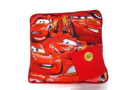 Tooth Fairy Pillow Pixar CARS Lightning McQueen Red Tooth Fairy Pillow for Boys.