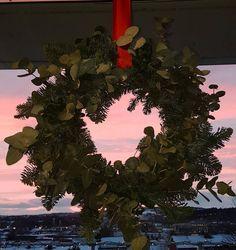Christmas wreath with eucalyptus ☘
