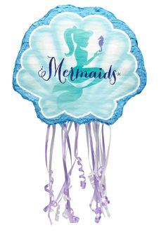 Mermaids Under the Sea Pull String Pinata