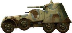 BA-11 soviet heavy armoured car (1941), used in the siege of Leningrad