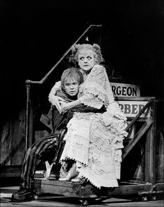 Ken Jennings And Angela Lansbury In Sweeney Todd 1979 Movie Theater Musical Theatre