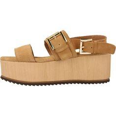 YELLOW. Zapatos online. AIZA MARRON CLARO