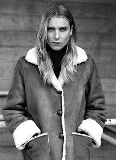 La veste en peau retournée, idéale pour passer l'hiver au chaud !