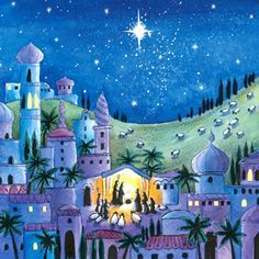 Bethlehem   Charity Christmas Card