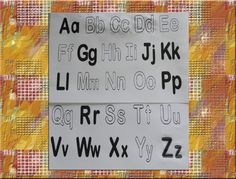 Elegir las letras