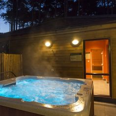 Luxury lodges with hot tubs, sauna & games room Lodges With Hot Tubs, Outdoor Retreat, Outdoor Decor, Short Break, Gap Year, Game Room, Luxury Lodges, Centre, Joules