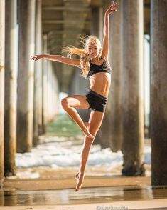 Ballerinas at the Beach Pictures | POPSUGAR Fitness