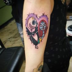 The nightmare before Christmas tattoos come from a fantastic World filled with creepy, wonderful characters and a feast of adventure thrills and Diamond Tattoo Designs, Diamond Tattoos, Tattoo Set, I Tattoo, Tattoo Nightmares, Nightmare Before Christmas Tattoo, Star Wars Tattoo, Love Tattoos, Tatoos