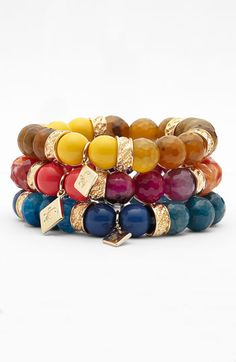 Sequin Beaded Stretch Bracelet (Nordstrom Exclusive) available at Nordstrom