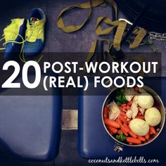 20 Post-Workout REAL Food Options! Great recipes and ways to prepare food in-bulk. #paleo #fitness #crossfit