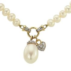 Your beauty deserves the best. Get the Gold Pearl Jewelry Diamond Necklace crafted by Old World European craftsmanship at Dacarli. Shop @  #diamondnecklace