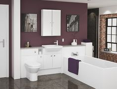 Milan - Perfect for subtle styling, the Milan bathroom range creates a fresh, contemporary look, whilst providing plenty of storage.
