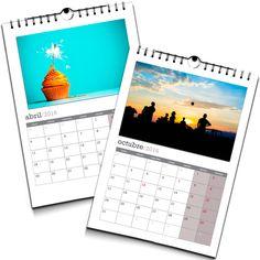 Calendario A3 notas