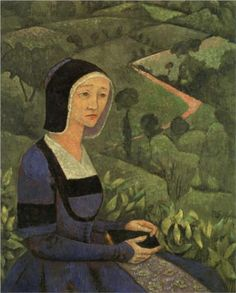 A Widow - Paul Serusier