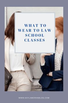 I can't believe today is the first day of my week of law school. I'm sure you've heard a million times that law school is a professional school and as …