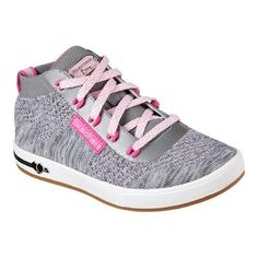Girls' Skechers Shoutouts Sparkle z High Top Gray/