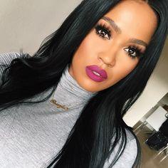 "@doseofcolors ""Berry me"" liquid lipstick. @flutterlashesinc ""Natalie&...   Use Instagram online! Websta is the Best Instagram Web Viewer!"