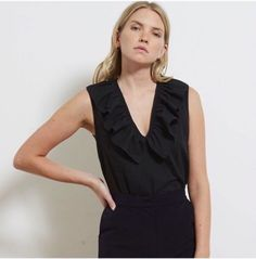 The perfect black top you've been looking for!