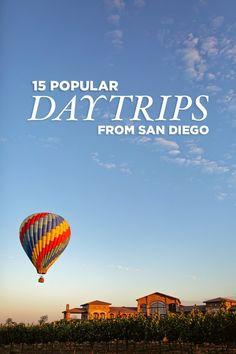 15 Popular Day Trips from San Diego. Tijuana, Ensenada, Carlsbad, Palm Springs, etc