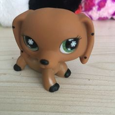 LITTLEST PET SHOP monopoly Brown Dog Dachshund GREEN EYES LPS Figure#NO | Toys & Hobbies, Preschool Toys & Pretend Play, Littlest Pet Shop | eBay!