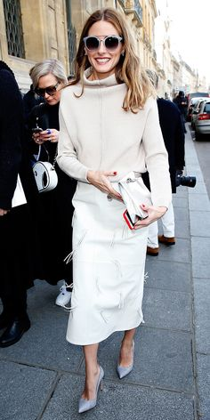 The 23 Best Celebrity Street Style Looks of 2015 - Olivia Palermo - from InStyle.com