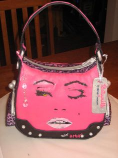 Betsey Johnson Purse - Hand Painted!! All Completely Edible!!! by Krissy