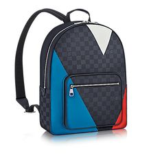 LOUIS VUITTON Josh. #louisvuitton #bags #canvas #leather #lining #metallic #shoulder bags #hand bags