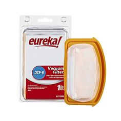 Genuine Eureka Filter - 1 filter: Fits Models: EUREKA* Boss* Superlite* and Superlite* 570 Series) Bagless Upright Vacuums Kitchen Vacuum, Best Vacuum, Floor Care, Vacuums, Office Supplies, Flooring, Boss, Models, Products
