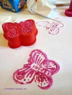 Pieczątka DIY - silikonowa formeka do muffinów