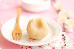 white bean wagashi (和菓子), dainty morsels of bite-sized japanese confectioneries used in traditional tea ceremony - matcha, purple sweet potato, black sesame, pumpkin, sakura etc.