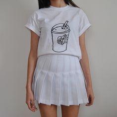 okwowcool:  white tennis skirt  neogal aesthetic hipster grunge gyaru fachin tennis skirt skirt bottoms pleated under20 under30 bh bella
