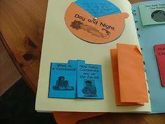 solar system lap book
