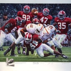 15 Best Alabama Crimson Tide Football Prints and Pictures images in
