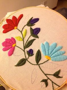 Awesome Most Popular Embroidery Patterns Ideas. Most Popular Embroidery Patterns Ideas. Mexican Embroidery, Types Of Embroidery, Hand Embroidery Stitches, Crewel Embroidery, Hand Embroidery Designs, Cross Stitch Embroidery, Floral Embroidery, Brazilian Embroidery, Crochet