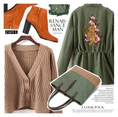 """Three colors"" by vanjazivadinovic ❤ liked on Polyvore featuring Chloé, Surratt, polyvoreeditorial and zaful"