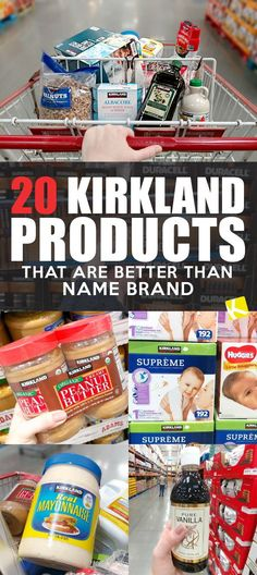 20 Kirkland Products That Are Better than the Name Brand