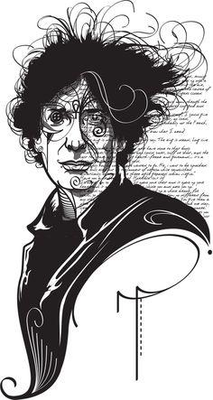 Neil Gaiman by Gui Soares