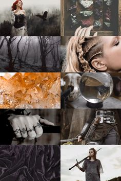 Scorpio + Celtic Witch Aesthetic ; requested by anon/s