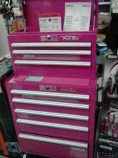 Pink Tool Box @ Sears!