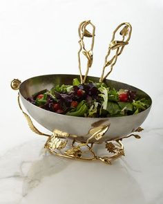 -6HB9 Michael Aram Enchanted Garden Servers Enchanted Garden Large Bowl