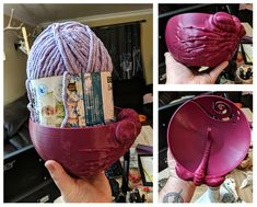Printed Facehugger Yarn Bowl by Jesse Pruitt