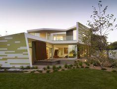 Casa Moderna Creativa y Sustentable en Santa Mónica: Residencia Rey