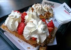 Eleven Oh Seven: A BELGIAN ADVENTURE. Waffle Factory