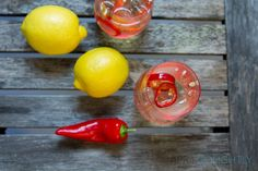 Enjoy this easy zesty white wine spritzer recipe - with Mirrasou Chardonnay, sprite, red chili peppers, and lemon making it a little spicy. Wine Spritzer Recipe, White Wine Spritzer, Spicy Drinks, Healthy Drinks, Red Chili Peppers, Summer Drinks, Beverages, Alcohol, Cool Stuff