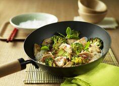 Scharfes Hähnchen aus dem Wok #rezept #recipe #asia #asiatisch #wok #genuss #genießen #hähnchen #chicken #gefluegel #geflügel