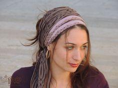 Beauty and Easy Headband tichel, So comfortable ,Snood, Head Scarf,Head Covering,jewish headcovering,Scarf,Bandana,apron