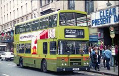 (Summerhill) working the August 1994 Bus Coach, Dump Trucks, Coaches, Buses, Dublin, Trains, Transportation, Ireland, Irish