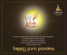 Lakhani Builders wishees all the Gurus a very Happy Guru Purnima. www.lakhanibuilders.in