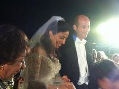 readyforroyalty:  Wedding of Crown Prince Muhammad of Egypt and Princess Noal Zaher, August 30, 2013