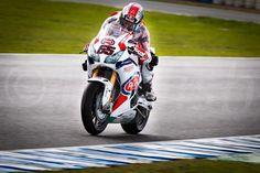 J. REA World Superbike Champion Test Jerez de la Frontera